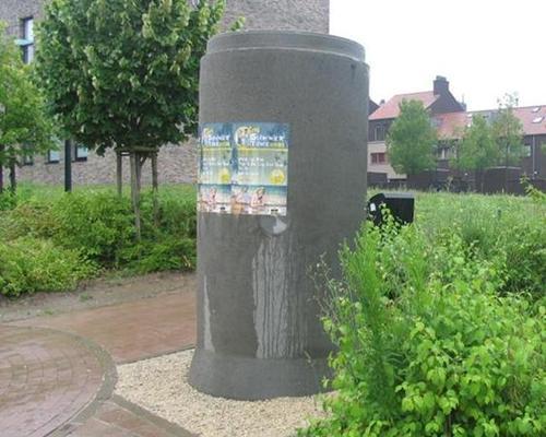 aanplakzuil in Hoeilaart