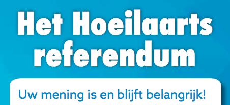 Banner referendum Hoeilaart